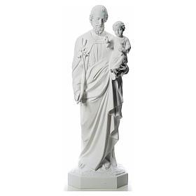 Statue St Joseph 160 cm fibre de verre s1