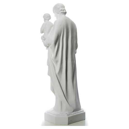 Statue St Joseph 160 cm fibre de verre 3