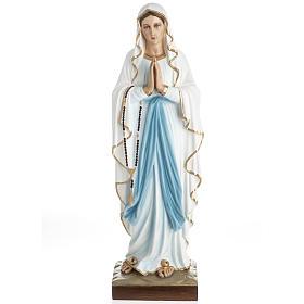 Nuestra Señora de Lourdes fibra de vidrio 60 cm.
