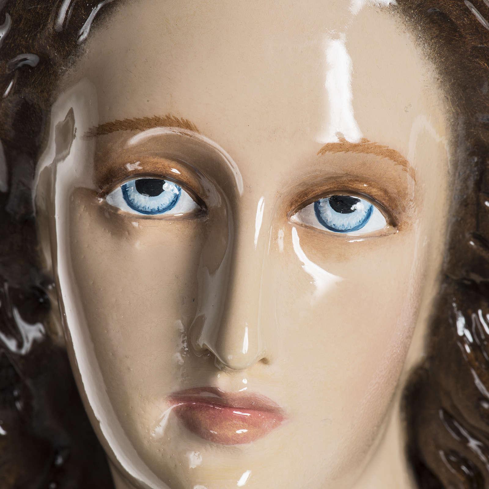 Mary Assumed into Heaven statue in fiberglass 100cm 4