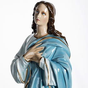 Mary Assumed into Heaven statue in fiberglass 100cm s9