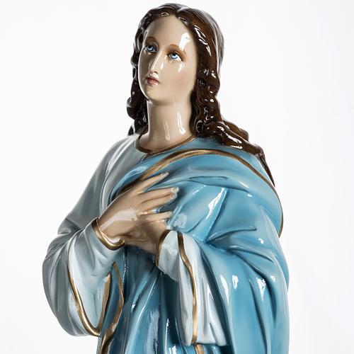 Mary Assumed into Heaven statue in fiberglass 100cm 9