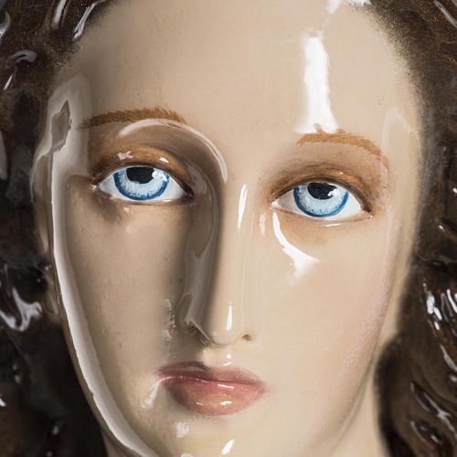 Mary Assumed into Heaven statue in fiberglass 100cm 11