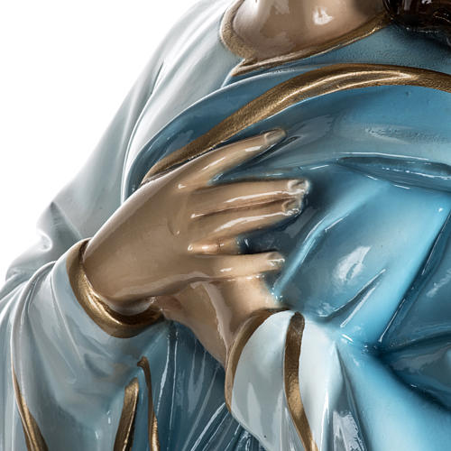 Mary Assumed into Heaven statue in fiberglass 100cm 13