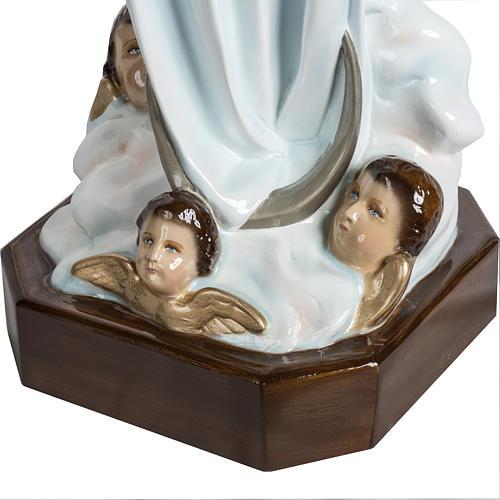 Nuestra Señora de la Asunción 100 cm. fibra de vidrio 10