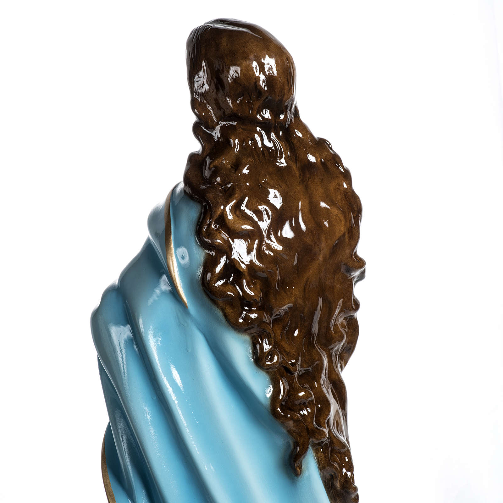 Beata Vergine Assunta 100 cm vetroresina lucida 4