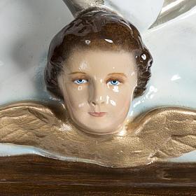 Beata Vergine Assunta 100 cm vetroresina lucida s12