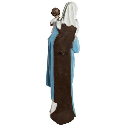 Virgen con el niño para bajorrelieve 60 cm. fibra de vidrio 9