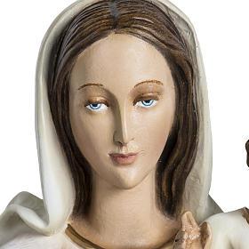 Madonna con bimbo applicazione 60 cm vetroresina s4