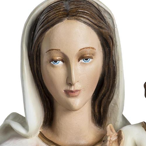 Madonna con bimbo applicazione 60 cm vetroresina 4