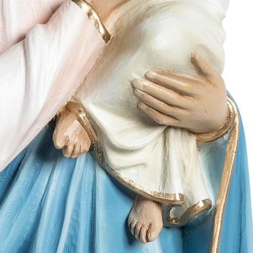 Madonna con bimbo applicazione 60 cm vetroresina 6