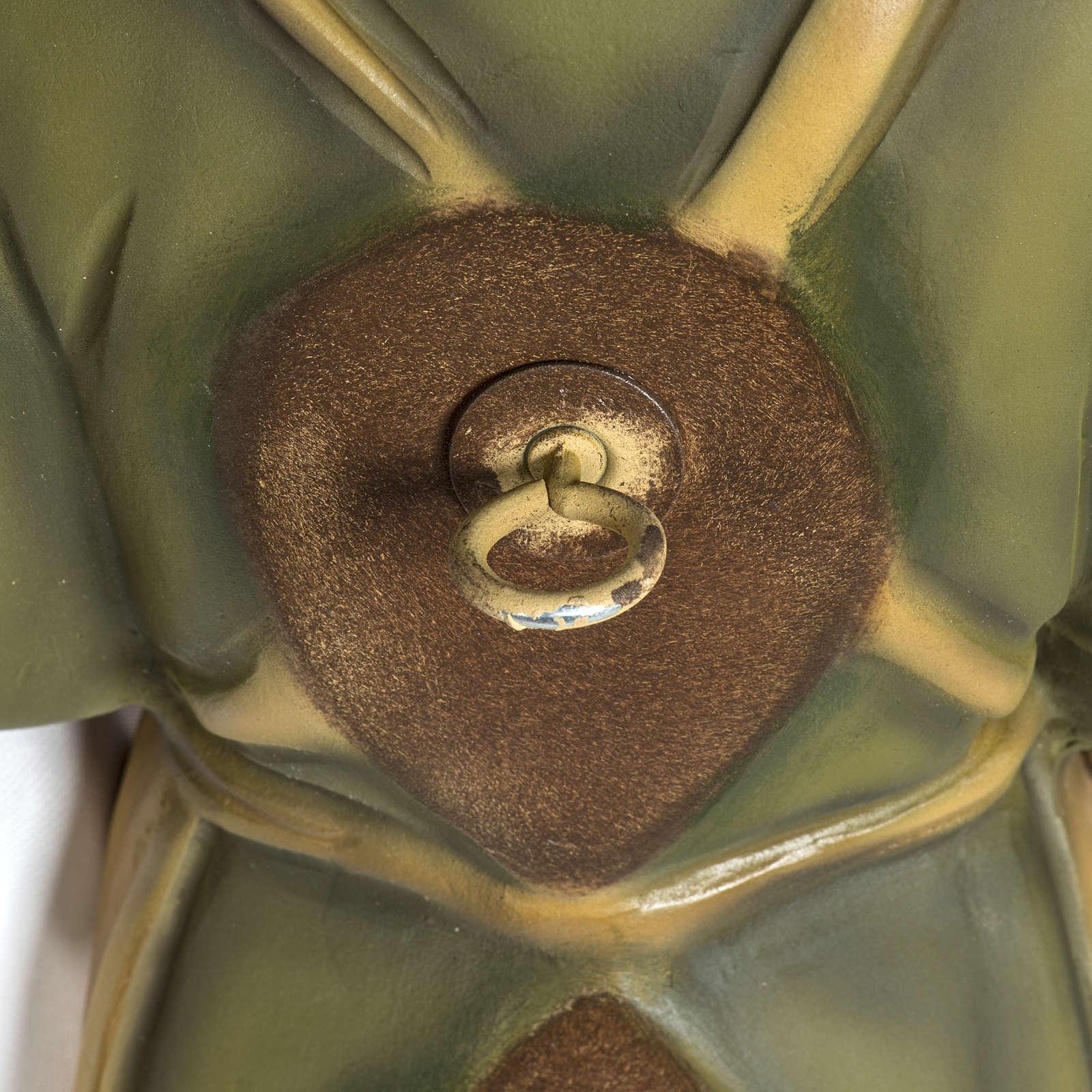 Giuseppe falegname 60 cm applicazione vetroresina 4