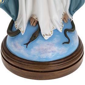 Statua Immacolata 60 cm Landi vetroresina occhi cristallo PER ESTERNO s3