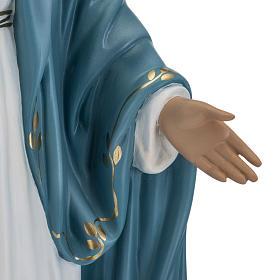 Statua Immacolata 60 cm Landi vetroresina occhi cristallo PER ESTERNO s4