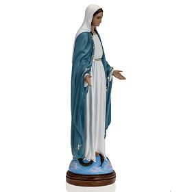 Statua Immacolata 60 cm Landi vetroresina occhi cristallo PER ESTERNO s5