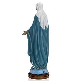 Statua Immacolata 60 cm Landi vetroresina occhi cristallo PER ESTERNO s6
