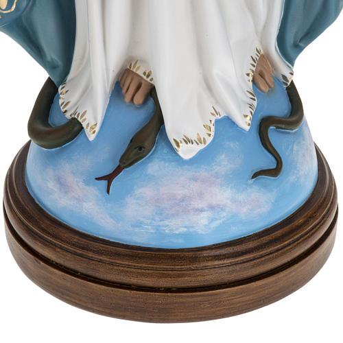 Statua Immacolata 60 cm Landi vetroresina occhi cristallo PER ESTERNO 3