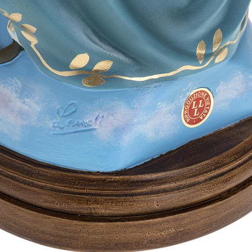 Statua Immacolata 60 cm Landi vetroresina occhi cristallo PER ESTERNO 7