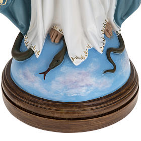 Immaculate Virgin Mary statue in fiberglass, crystal eyes, 60cm s3