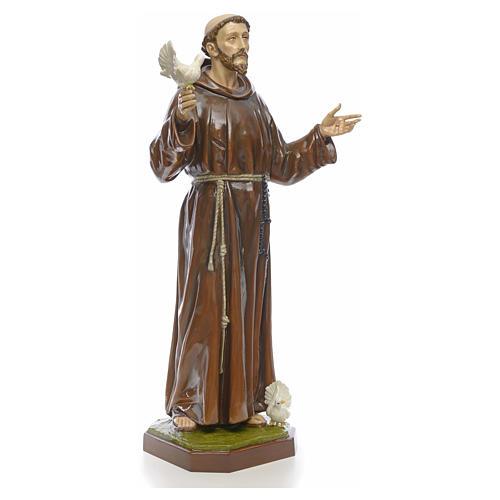 Estatua San Francisco 170 cm fibra de vidrio 4