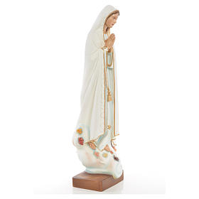 Our Lady of Fatima statue in painted fiberglass 60cm s4