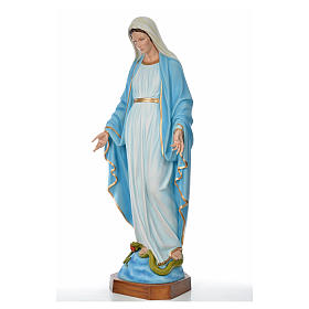 Sacred Heart of Jesus statue in fiberglass for outdoors use 130c s6
