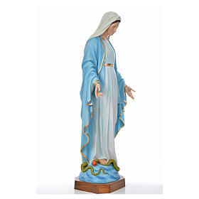 Sacred Heart of Jesus statue in fiberglass for outdoors use 130c s8