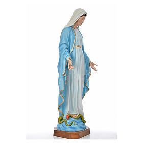 Sacro Cuore Gesù 130 cm vetroresina colorata per esterno s8