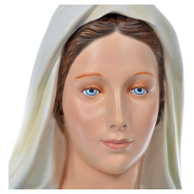 Sacro Cuore Gesù 130 cm vetroresina colorata per esterno s10