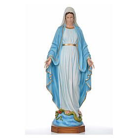 Sacred Heart of Jesus statue in fiberglass for outdoors use 130c s5