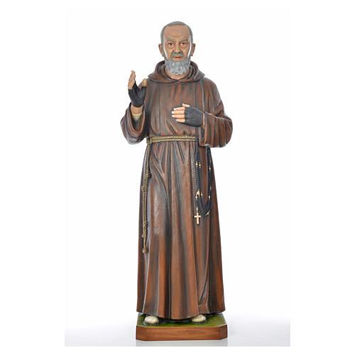 Padre Pio of Pietralcina statue in painted fiberglass 175cm 8