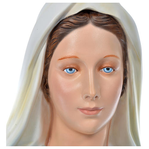 Virgen Inmaculada 180 cm. fibra de vidrio coloreada 2