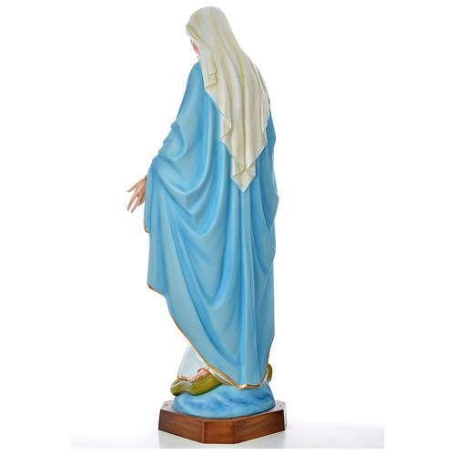 Vierge Immaculée 180 cm fibre de verre colorée 8