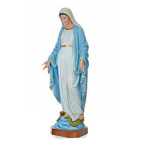Madonna Immacolata 180 cm vetroresina colorata s2