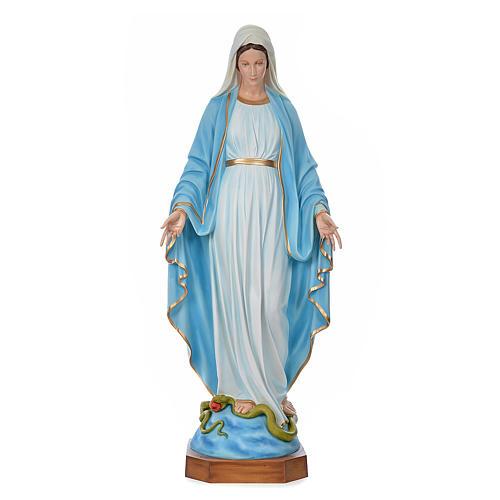 Madonna Immacolata 180 cm vetroresina colorata 1