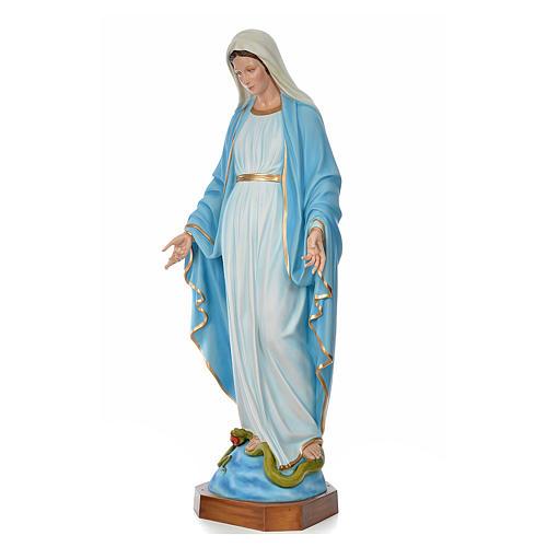 Madonna Immacolata 180 cm vetroresina colorata 2