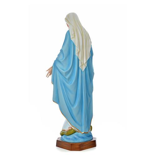 Madonna Immacolata 180 cm vetroresina colorata 3
