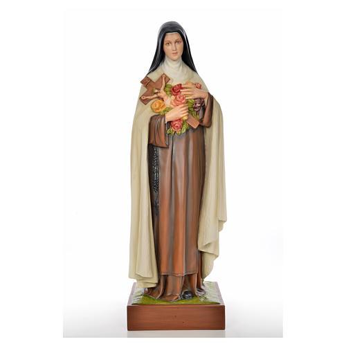 Santa Teresa del Bambin Gesù 100 cm vetroresina 1