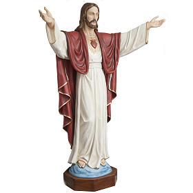 Christ rédempteur 200 cm fibre de verre s2