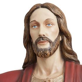 Christ rédempteur 200 cm fibre de verre s4