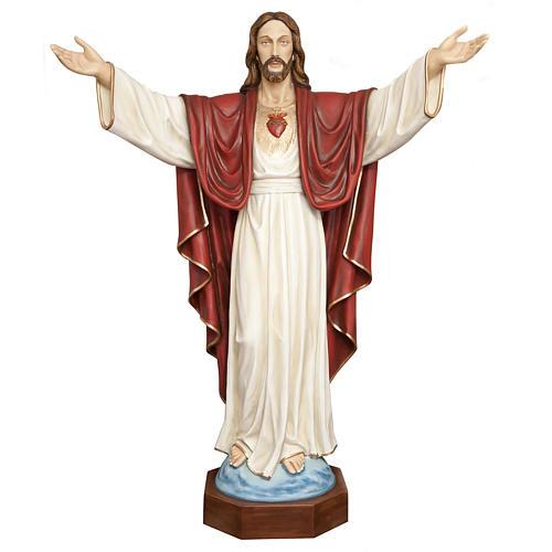 Christ rédempteur 200 cm fibre de verre 1