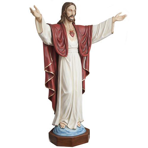 Christ rédempteur 200 cm fibre de verre 2