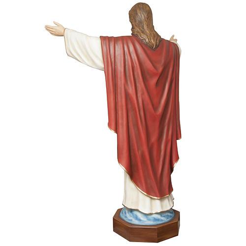 Christ rédempteur 200 cm fibre de verre 6