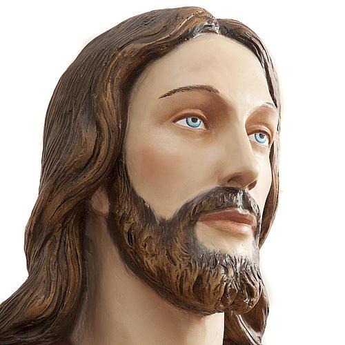 Christ rédempteur 200 cm fibre de verre 8