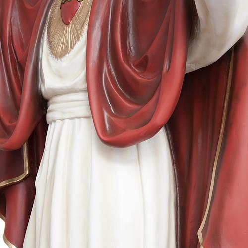 Christ rédempteur 200 cm fibre de verre 10