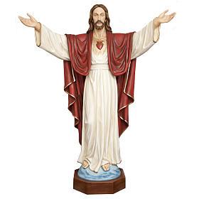 Cristo Redentore 200 cm vetroresina s1