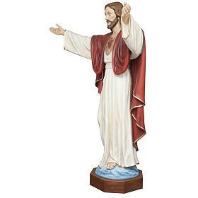 Cristo Redentore 200 cm vetroresina s3