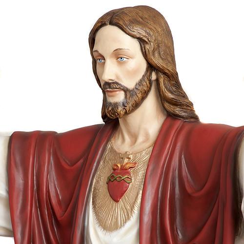 Cristo Redentore 200 cm vetroresina 9