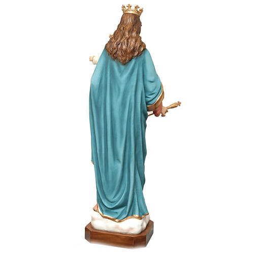 Mary Help of Christians statue in fiberglass 120cm 7