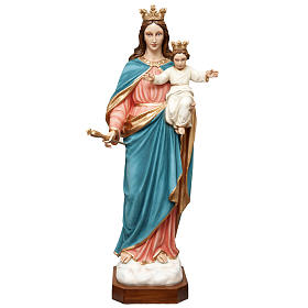 Mary Help of Christians statue in fiberglass 120cm s1